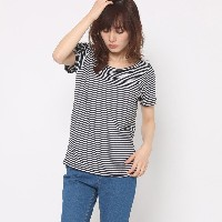 【SALE 65%OFF】スパイラルガール プロデュースド バイ ルーミィーズ SPIRAL GIRL produced by Roomy's OUTLET ベーシックボートネックTシャツ ...