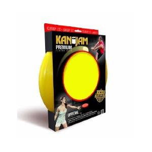 Kan Jam Flying Disc, Yellow Color: Yellow Size: Model: KJ168P-Y by Toys & Child