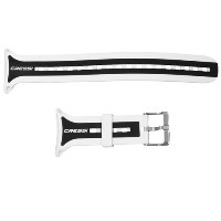Cressi Leonardo Computer Wrist Strap (computer not included) (White/Black) by Cressi