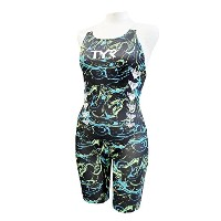 TYR(ティア) 【ENERGY】WOMENS ALL IN ONE SENGY-17S グリーン L