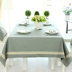GYP Tablecloth Cotton And Linen Tablecloth Table Cloth Solid Cloth Table Cloth Coffee Table Cloth (...