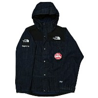 Supreme (シュプリーム) × THE NORTH FACE (ノースフェイス) DENIM DOT SHOT JKT