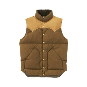 ★SALE 20%OFF★ ロッキー マウンテン Rocky Mountain Featherbed PARAFFIN DOWN VEST BROWN ブラウン  '17 ロッキーマウンテン...