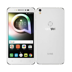 【中古】【安心保証】 SIMフリー ALCATEL SHINE LITE 16GBピュア・