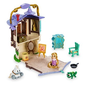Disney(ディズニー) Disney Animators' Collection Littles Rapunzel Micro Doll Play Set - 2'' ラプンツェル...