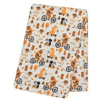 Trend Lab Let's Go Deluxe Flannel Swaddle Blanket by Trend Lab