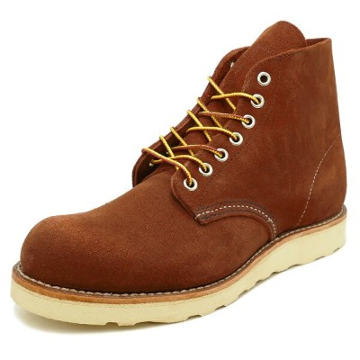 "RED WING 8813 Classic Work 6"" Round-toe 【レッドウイング 8813 クラシックワーク 6インチ ラウンドトゥ】Copper Abilene Roughout..."
