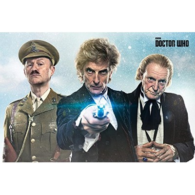 Doctor Who Poster Twice Upon A Time (91,5cm x 61cm)