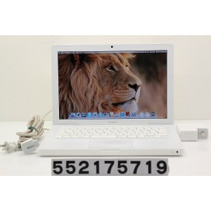Apple MacBook A1181 Core2Duo T7400 2.16GHz/2GB/120GB/Multi/13.3W/WXGA(1280x800)/MacOSX10.7 AC被膜破れあり...