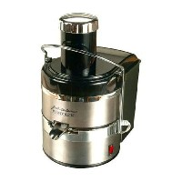 ステンレスジューサー 野菜 Jack Lalanne's JLSS Power Juicer Deluxe Stainless-Steel Electric Juicer