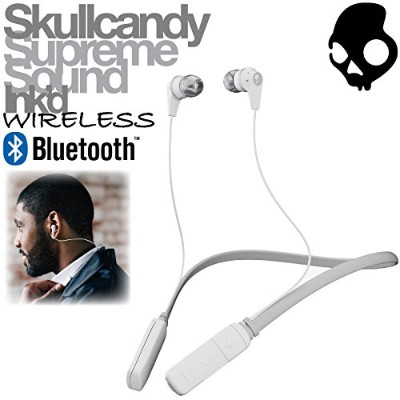 Skullcandy イヤホン Ink'd WIRELESS(WHT-IKWJ573)