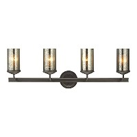 Sea Gull Lighting 4410404-715, Sfera Glass Wall Vanity Lighting, 4 Light, 300W, Bronze by Sea Gull...