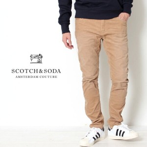 【20%OFF/SALE/セール】【送料無料】 SCOTCH&SODA スコッチアンドソーダ スコッチ Pike-Stretch Corduroy Trousers Skinny fit...