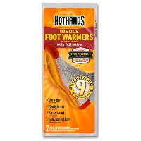 HotHands Insole Foot Warmers with Adhesive backing by HotHands