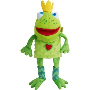 HABA Glove Puppet Frog King by HABA
