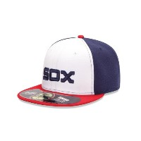 New Era MLB代替Authentic Collection On Field 59 FIFTY Fittedキャップ ホワイト