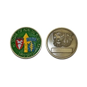 Special Forces 60 years celebration – Challenge Coin