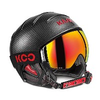'17-18KASKカスクゴーグル&ヘルメット「Combo Elite Pro」Carbon/Black Yellow(SHE00051.273) (60)
