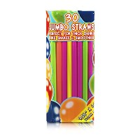 ( 180-pack ) Large Milkshake / Smoothie / Slushストロー、UnwrappedジャンボThick Shake Drinking Straws...