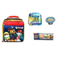 Paw Patrol文字3d Insulatedランチバッグサンドイッチコンテナ& Mini SnackコンテナPlus Resealableバッグ