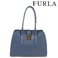 FURLA フルラ バッグトートバッグ レディース ブルー BKV9 MILANO PEGGY M TOTE 886554 【CLEARANCE】