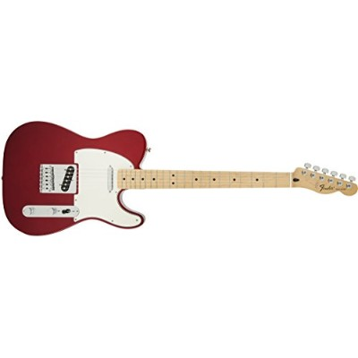 Fender フェンダー エレキギター Standard Telecaster, Maple Fingerboard - Candy Apple Red