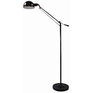 Verilux Brookfield Natural Spectrum Floor Lamp, All Metal Apothecary Lamp Inspired Design and...
