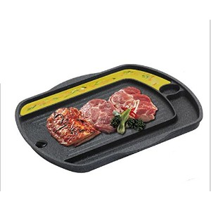 QUEEN SENSE 韓国バーベキュー誘導肉焼きグリル BBQ Grill Pan for Induction cooktop, Induction Cookware from Kore