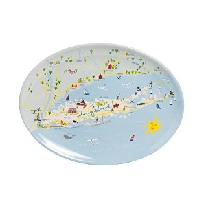 Galleyware Long IslandメラミンOval Platter