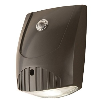 All Pro Outdoor Security WP1050LPC 70W Metal Halide Equivalent LED Wall Pack Dusk-to-Dawn Flood...