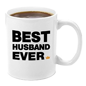 Best Husband Ever |プレミアム11オンスコーヒーマグセット – 私の夫ギフトギフト、妻から夫と妻、ギフト、ギフトアイデアから妻バレンタインの日夫誕生日ギフトGood Great Best Perfect Awesome