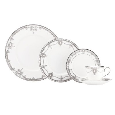 Lenox Marchesa Couture 5-piece Place Setting、Empireパール