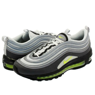 NIKE WMNS AIR MAX 97 ナイキ ウィメンズ エア マックス 97 DARK GREY/VOLT/STEALTH/PURE PLATINUM 921733-003