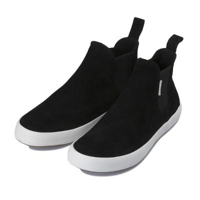 【SPERRY TOPSIDER】 スペリートップサイダー WAHOO CHELSEA SUEDE ワフーチェルシースエード STS15624 BLACK