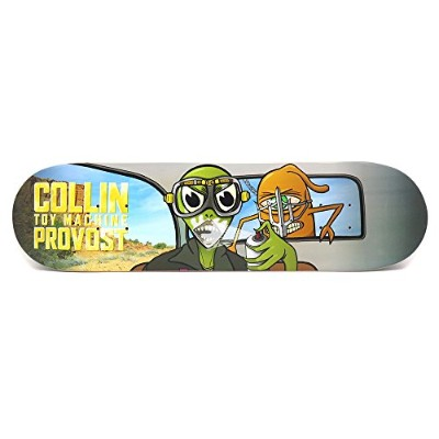TOY MACHINE DECK(トイマシーン)デッキ COLLIN PROVOST WAR TURTLE BOY・8.0