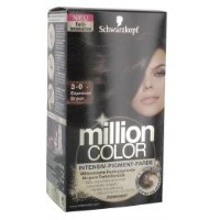 Schwarzkopf Million Color 3-0 Espresso Braun 126 ml