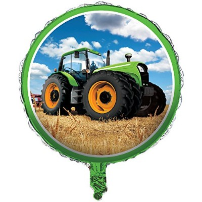 Tractor Time 46cm Foil Balloon