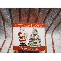 Fitz and Floyd Dear Santa Salt and Pepper Shakers