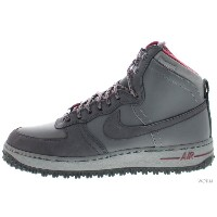 【US10.5】NIKE AIR FORCE 1 DECONSTRUCT MB QS 573978-001 cool grey/anthracite-team red エア フォース ハイ 未使用品...
