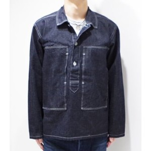 BUZZ RICKSON'S バズリクソンズ U.S.ARMY|デニムワーキングジャケット『NAVY DENIM PULL OVER JACKET』【ミリタリー・ワーク】BR14094(Other...