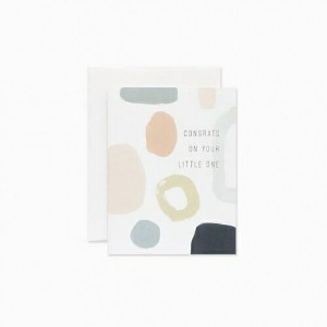 EVERMORE PAPER CO. | ABSTRACT BABY CARD | グリーティングカード