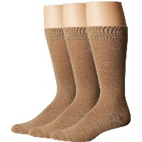 フエ メンズ インナー・下着 ソックス【Solid Sock with Half Cushion 3-Pack】Classic Pack