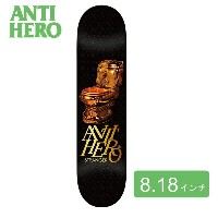 ANTIHERO アンタイヒーローJulian Stranger Gold Commode Skateboard Deck スケートボード skateboard スケボー デッキ 板 deck...