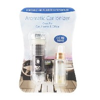 Mystic Moments | Car Aroma Air Purifier Ionizer | Black