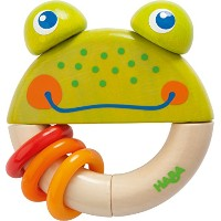 Haba Clutching Toy Frog Frido (300550) by HABA