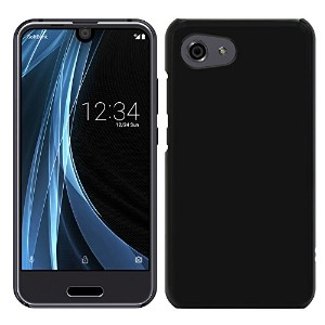 「Breeze-正規品」iPhone ・ スマホケース ポリカーボネイト [Black]アクオス アール コンパクト AQUOS R compact SHV41 AQUOS R compact...