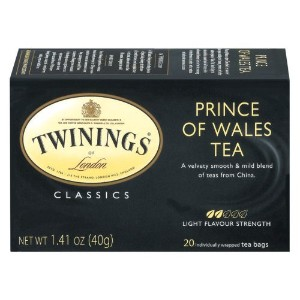 Twinings, Classics, Prince of Wales Tea, 20 Tea Bags, 1.41 oz (40 g)