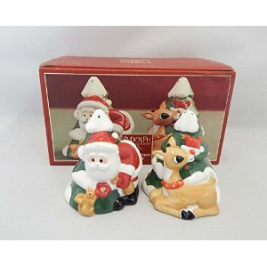 Rudolph the赤Nosed ReindeerコレクションSalt & Pepper Shakers