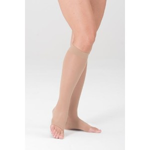 Medi Sheer&Soft Knee High 15-20mmHg Open Toe, II, Natural by Medius