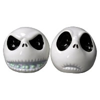 Nightmare BeforeクリスマスSalt and Pepper Shakers – 2つの面ジャック
